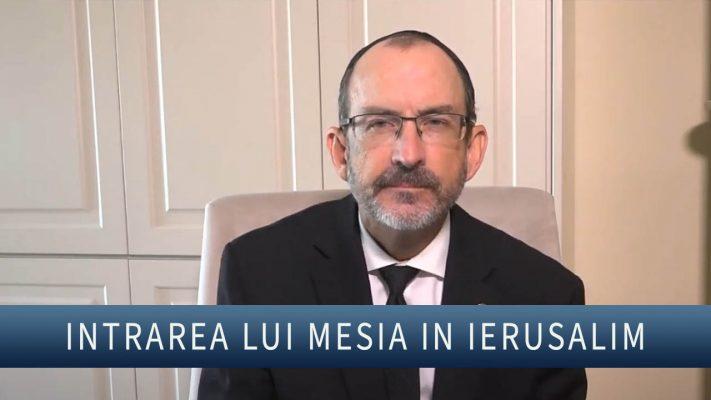 Intrarea lui Mesia in Ierusalim